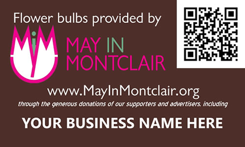 Purchase a full page ad and we'll place a customized marker in a flower bed next spring